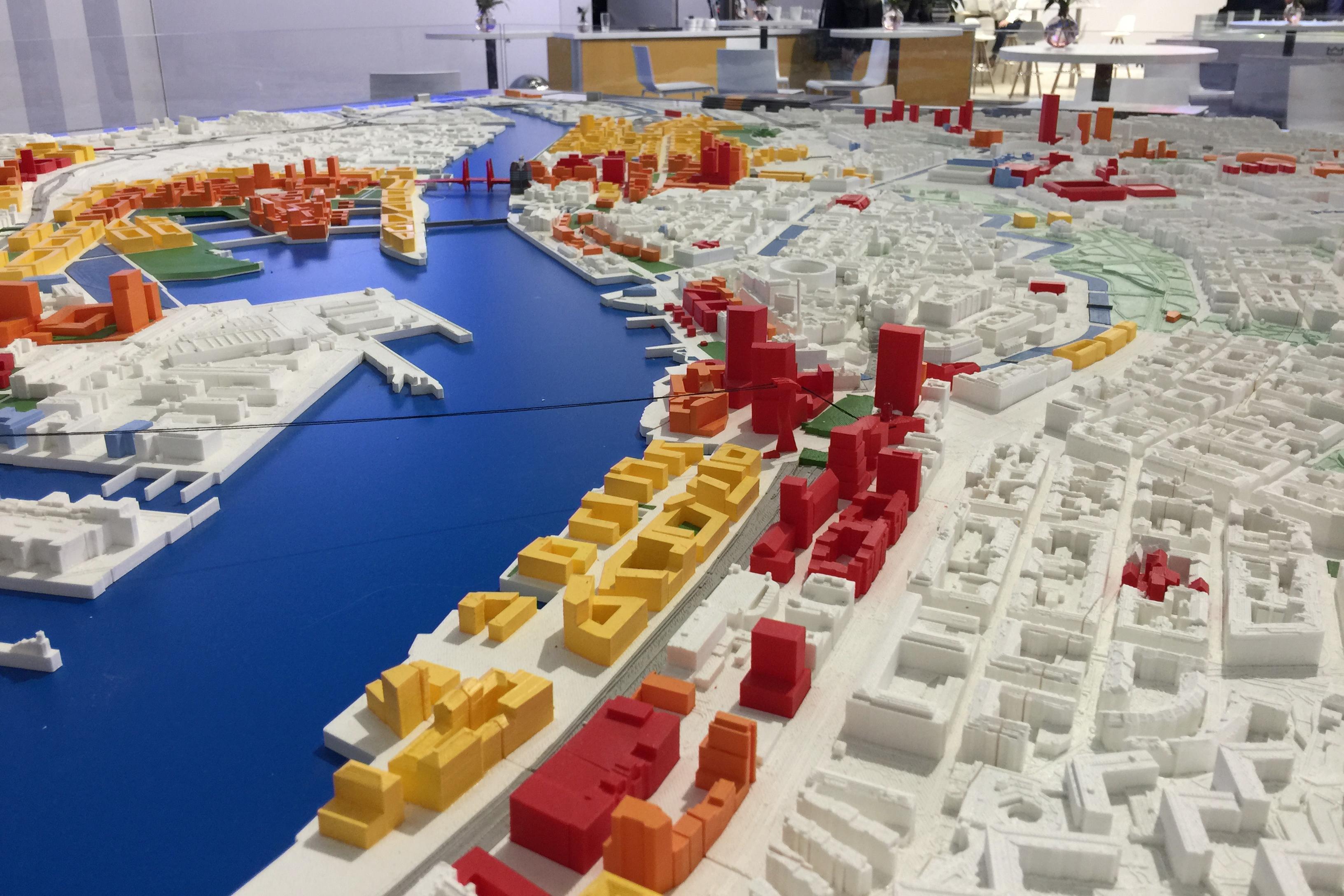 Zukünftige Neustrukturierung der schwedischen Stadt Göteborg