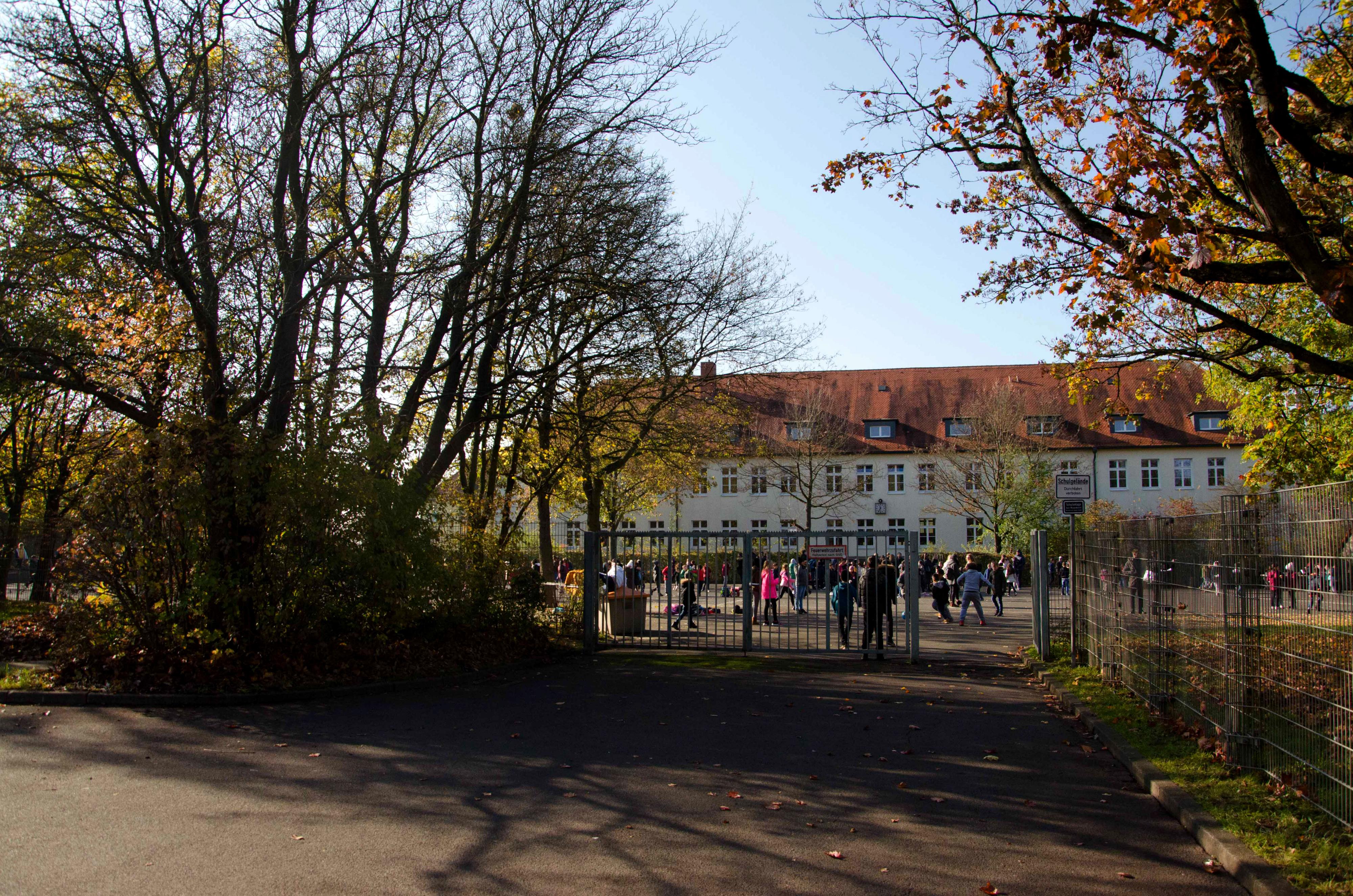 Cuno-Raabe Schule Schulhof