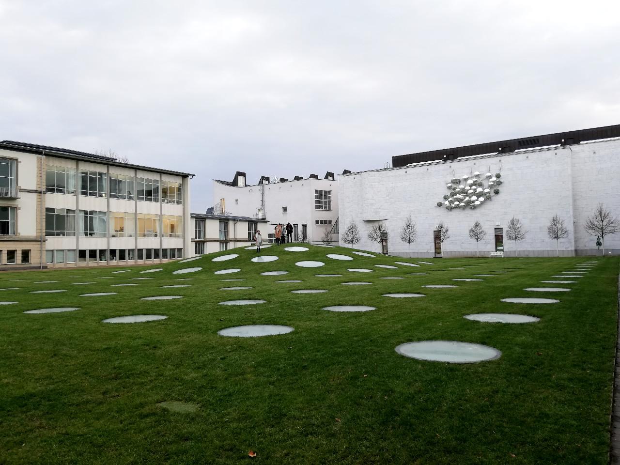 Was oberirdisch von der Erweiterung des Städelmuseums zu sehen ist
