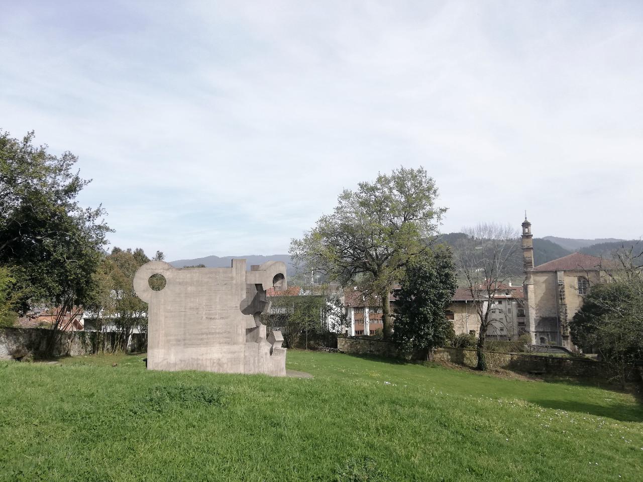 Chillida in Gernika