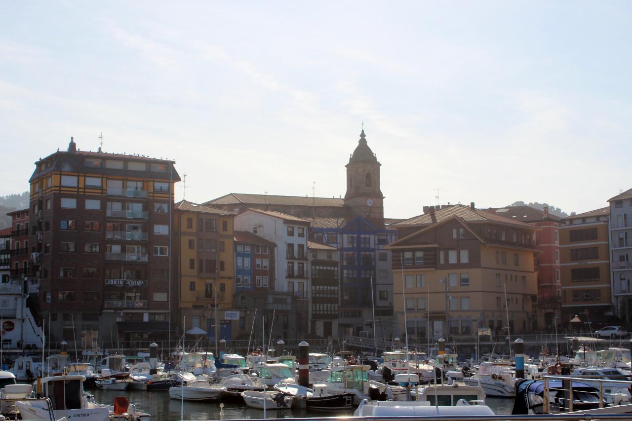 Die kleine Hafenstadt Bermeo