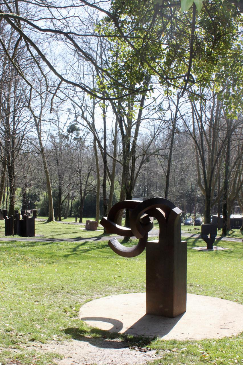 Ein Wald voll Skulpturen