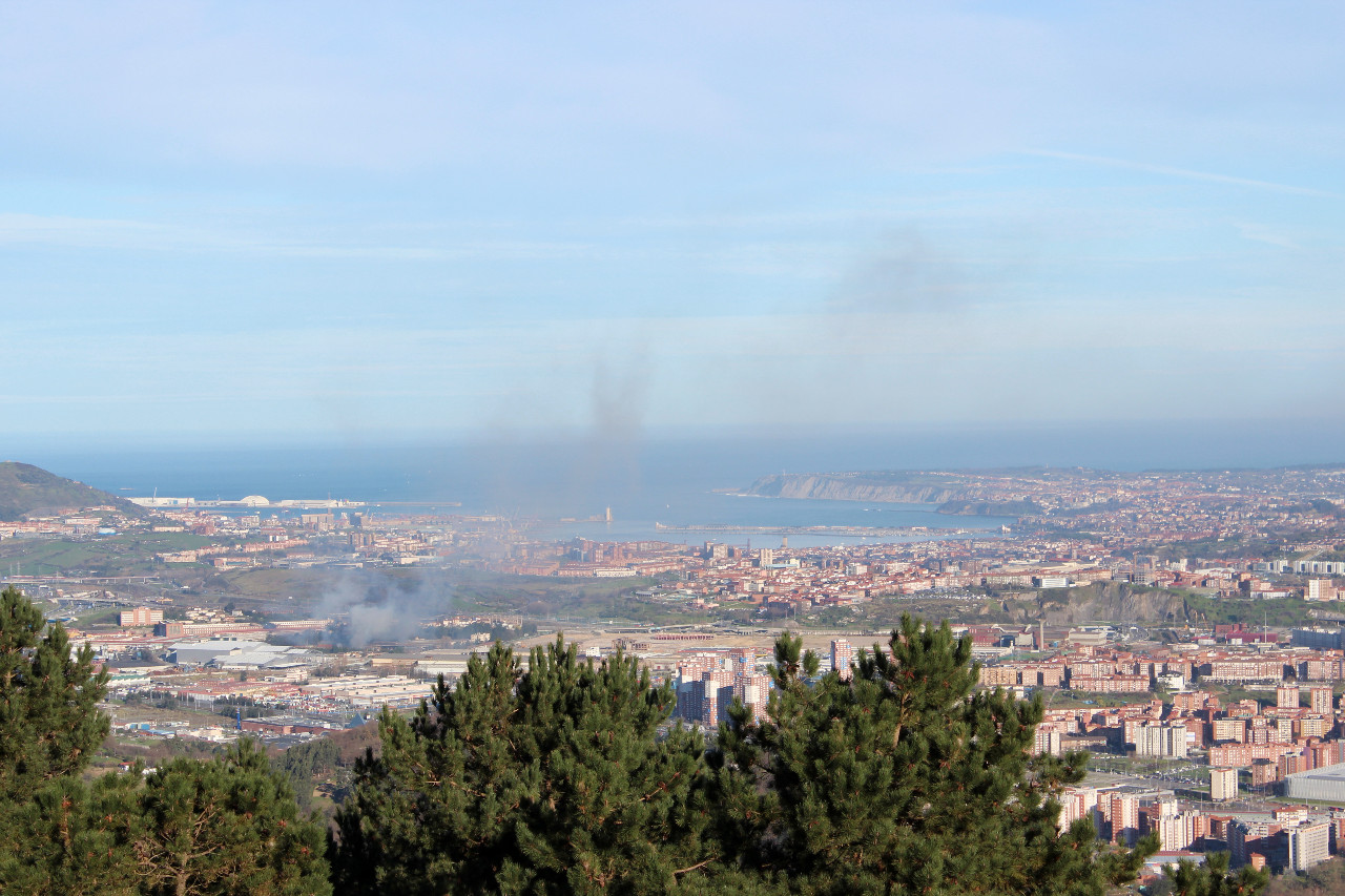 Wandern um Bilbao mit Meerblick