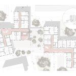 A8_LenaKarch_Grundriss_2.Obergeschoss_Visualisierung Einzel Apartment